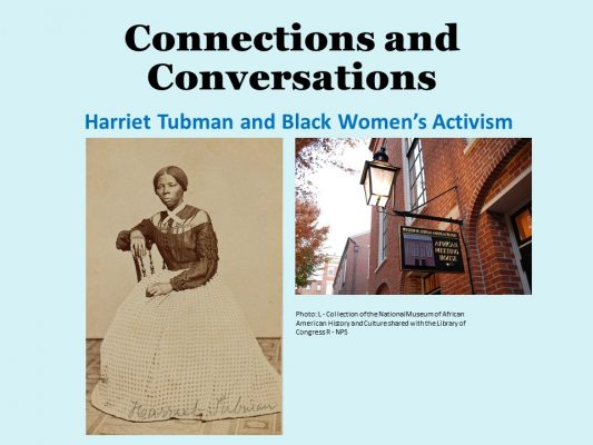 Connections and Conversations: Harriet Tubman and Black Women's Activism
