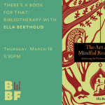 There's a Book for That: Bibliotherapy with Ella Berthoud