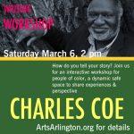 Free Writing Workshop with Poet Charles Coe