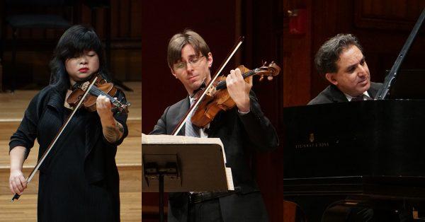 Bach, Stravinsky, Ngwenyama, Schubert