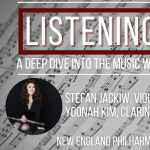 Listening In: featuring Yoonah Kim and Stefan Jackiw