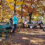 The next live, free, Boston outdoors post-modern Jazz concert