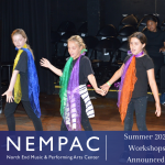 Registration for NEMPAC's Summer Programs in Music, Theatre, and Dance!