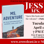 Virtual: Jess Phoenix, Ms. Adventure: My Wild Explorations in Science, Lava, and Life