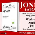 Virtual: Jonny Sun, Goodbye, Again