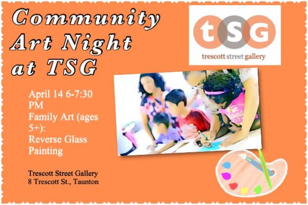 Community Art Night at Trescott Street Gallery: Fa...
