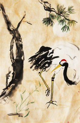 Chinese Ink Brush Painting