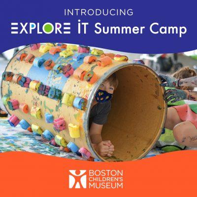 Boston Children's Museum Presents Explore It Summer Camp Experience