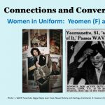 Connections and Conversations, Women in Uniform: Yeomen (F) and WASPS