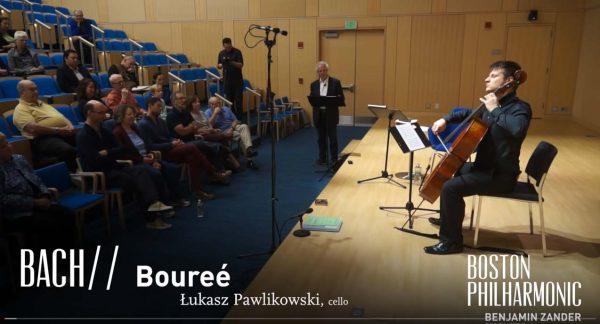 Interpretations of Music:Bourrée from Bach's 3rd Cello Suite