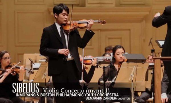 Sibelius Violin Concerto: Boston Philharmonic Yout...