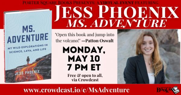 Virtual: Jess Phoenix, Ms. Adventure: My Wild Expl...