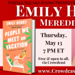 Virtual: Emily Henry with Meredith Goldstein, Peop...