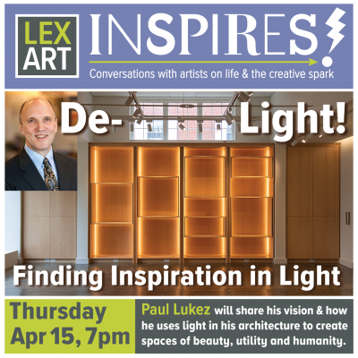 Finding Inspiration in Light, A Conversation with ...