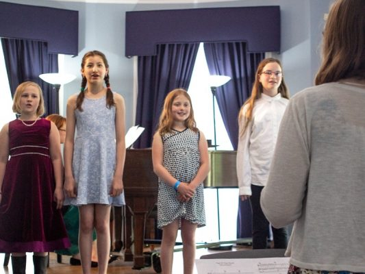 Brookline Music School Vocal Discovery Class: Colors of the Rainbow