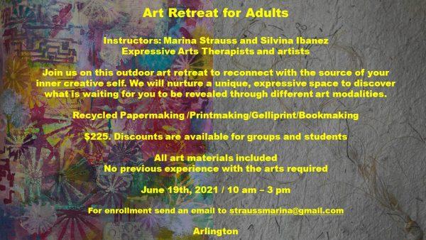 Summer Art Retreat for Adults