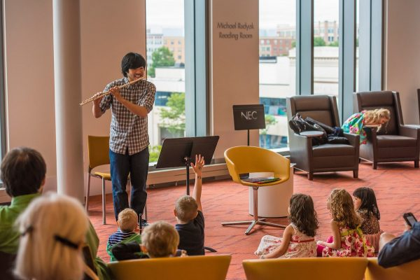 New England Conservatory: Free School Vacation Wee...