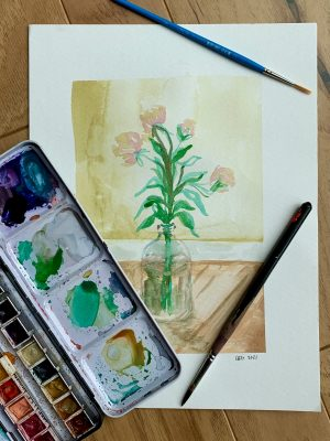 Drawing Together: Watercolors with Lauren Gooding