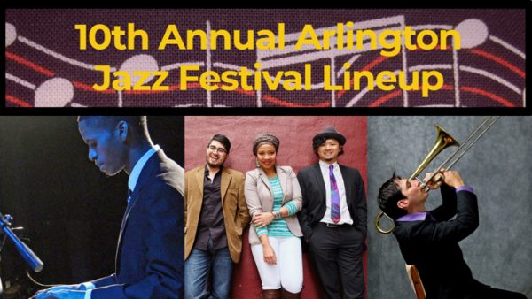 Arlington Jazz Festival, 10th annual, featuring Witness Matlou, MIXCLA, Dan Fox Group