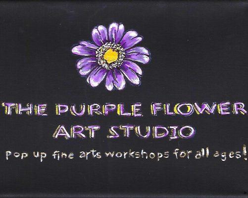 The Purple Flower Art Studio