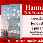 Virtual: Hannah Reynolds, The Summer of Lost Letters