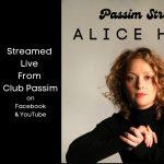 Passim Streams: Alice Howe (live from Club Passim)
