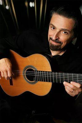 Classical guitarist John Muratore performs at Gore Place