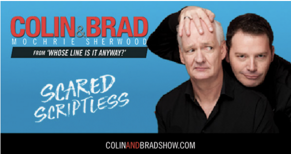 Colin Mochrie and Brad Sherwood: The Scared Script...