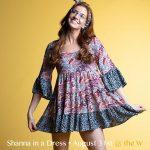 Shanna In A Dress