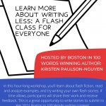 Learn More About Writing Less: A Flash Class for Everyone