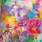 Live Arts Arlington: Gelli printmaking with Marina Strauss with a Morningside Music Jazz Combo