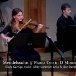 Interpretations of Music: Mendelssohn: Piano Trio no. 1 - 1st movement