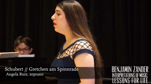 Interpretations of Music: Lessons for Life Class on Schubert's song Gretchen am Spinnrade