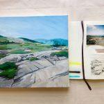 Virtual Program: Abstract Landscape Painting with Amanda Hawkins