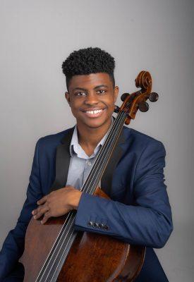 Cellist Sterling Elliott in Recital