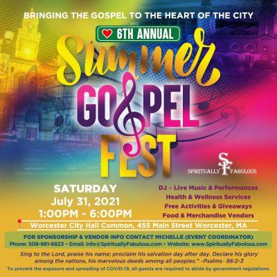 6th Annual Summer Gospel Fest
