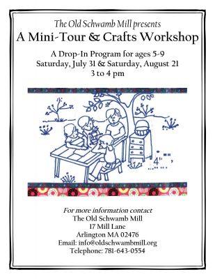 Mini-Tour and Crafts Program for Children