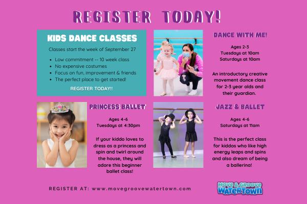 Fall Kids Dance Classes