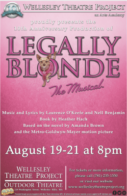 Legally Blonde The Musical Presented By Wellesley Theatre Project