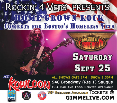 Barry Goudreau's Engine Room – Live @ Kowloon in a Concert for a Cause