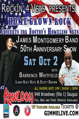 James Montgomery Band & friends Celebrate 50th Anniv – Live @ Kowloon a Concert for a Cause