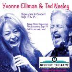 Regent Theatre Presents Yvonne Elliman & Ted Neeley In Concert