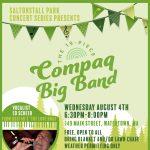 19-Piece Compaq Big Band With Vocalist Ed Scheer at FREE Saltonstall Park Summer Concert Series