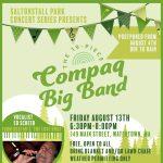 19-Piece Compaq Big Band With Vocalist Ed Scheer at FREE Saltonstall Park Concert