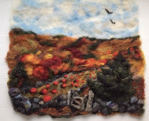 Workshop: Autumn Wool Painting