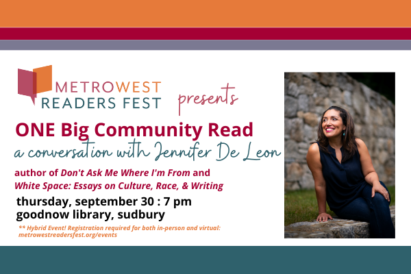 ONE Big Community Read: A Conversation with Jennif...