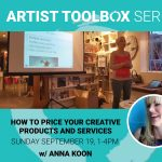 Artist Toolbox Series: How to Price Your Creative Products and Services