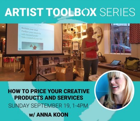 Artist Toolbox Series: How to Price Your Creative ...