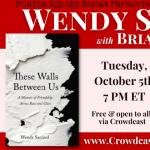 Virtual: Wendy Sanford, These Walls Between Us