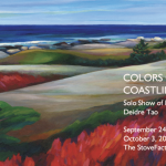 Colors of the Coastline: Solo Show of Paintings by...